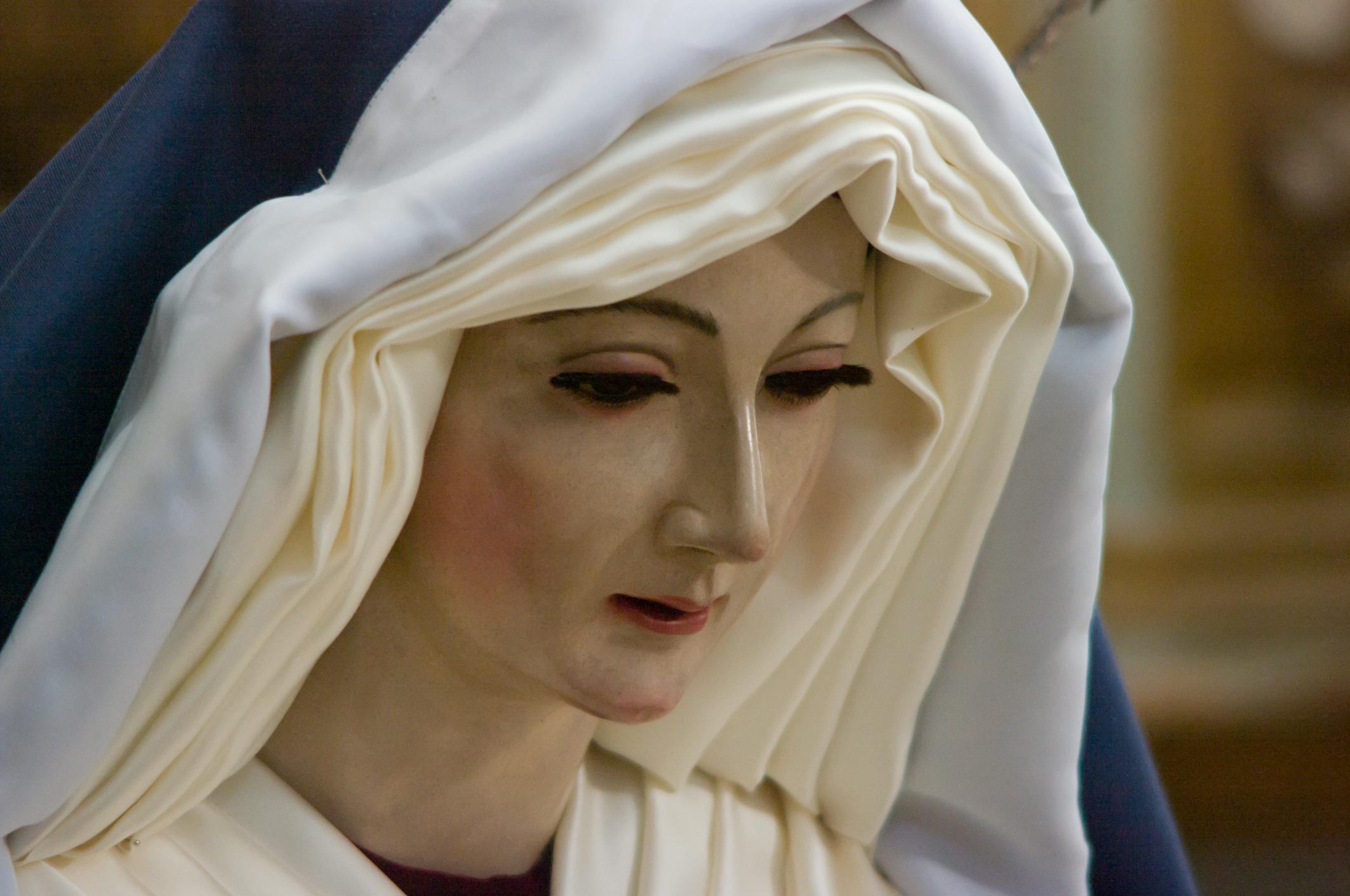 Semana Santa Subbética 2018 Priego de Córdoba Virgen de los desamparados