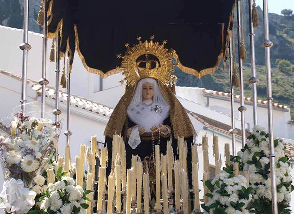 Semana Santa Subbética 2018 Zuheros Virgen de los Dolores