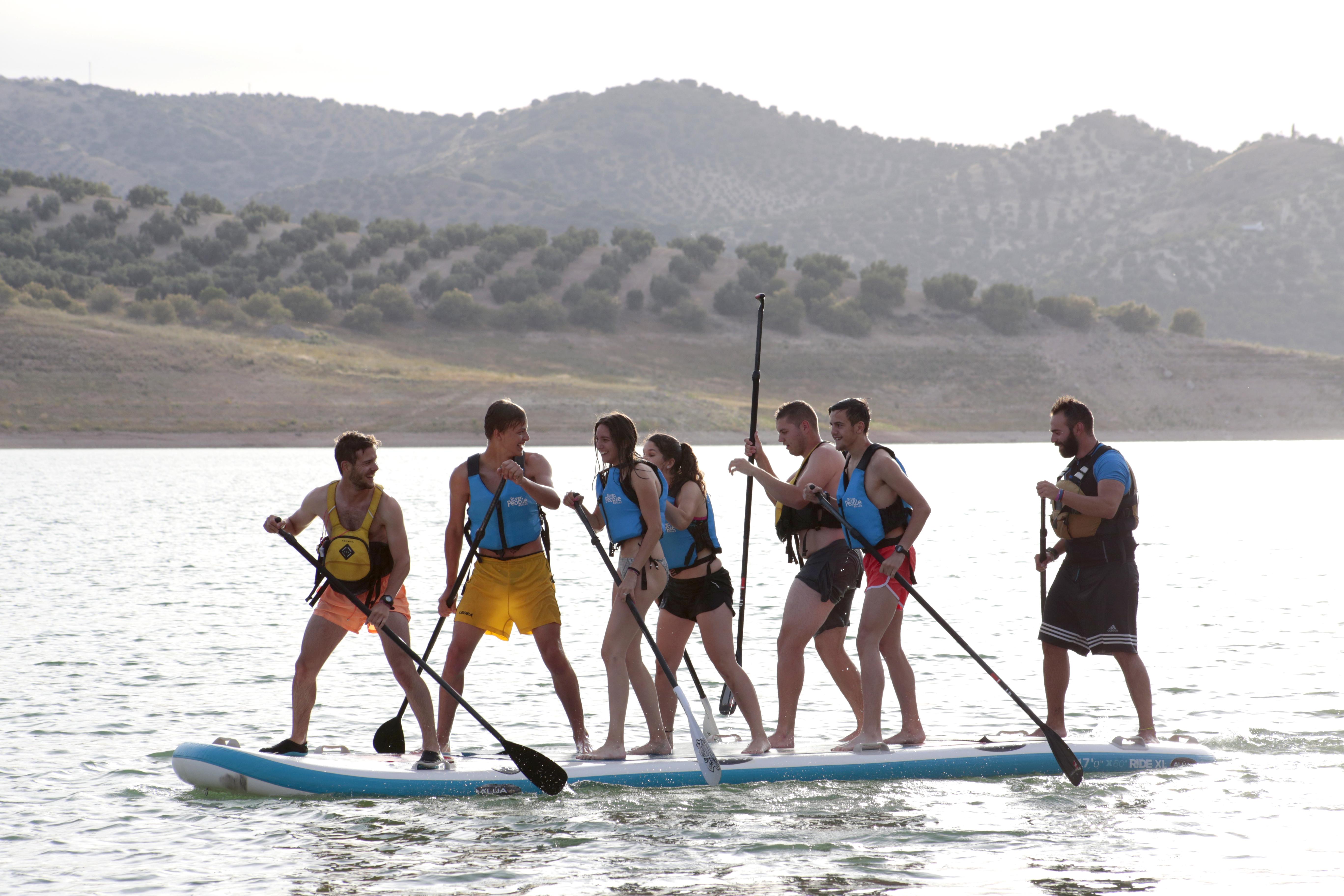 Paddle Surf con Alúa en Iznájar