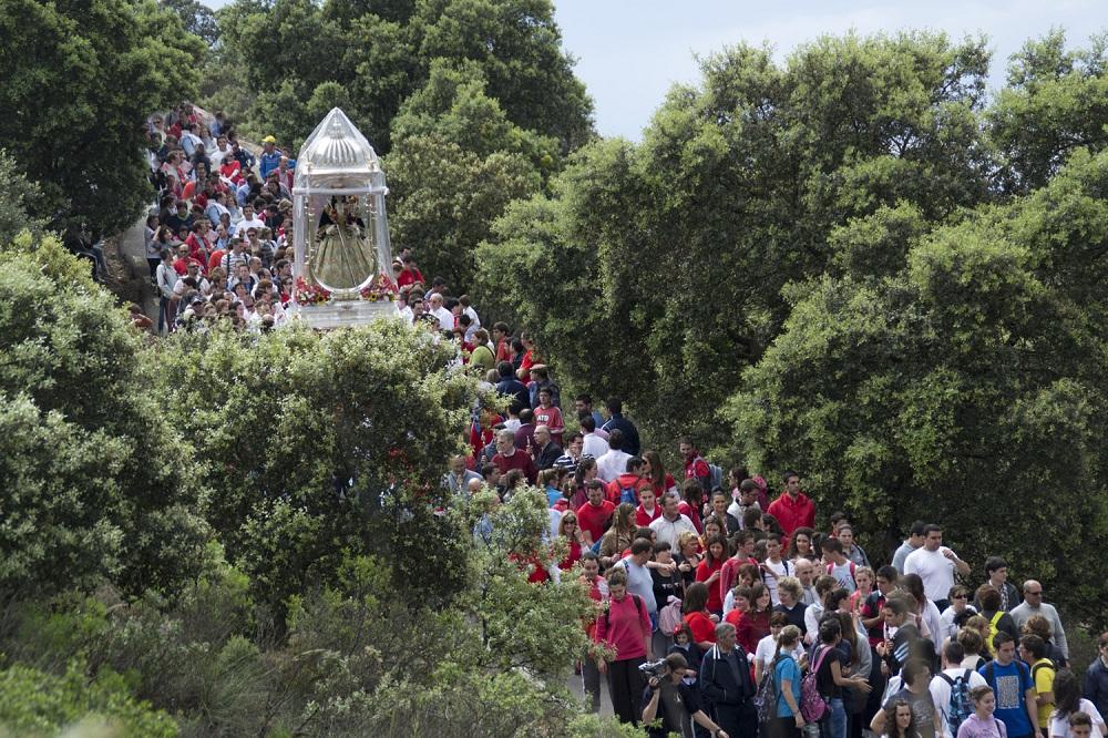 Fiestas aracelitanas Romería de Bajada Virgen de Araceli