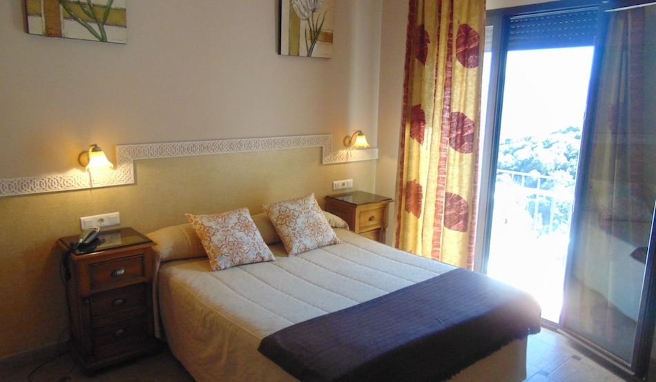 Habitación del Hotel Restaurante Sierra de Araceli