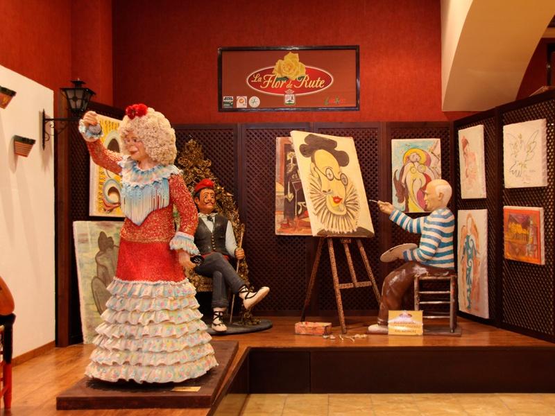 Figuras del Museo del Azúcar de Rute