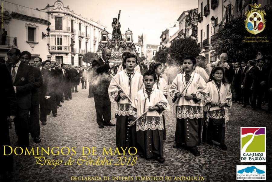 Domingos de Mayo de Priego Cartel 2018