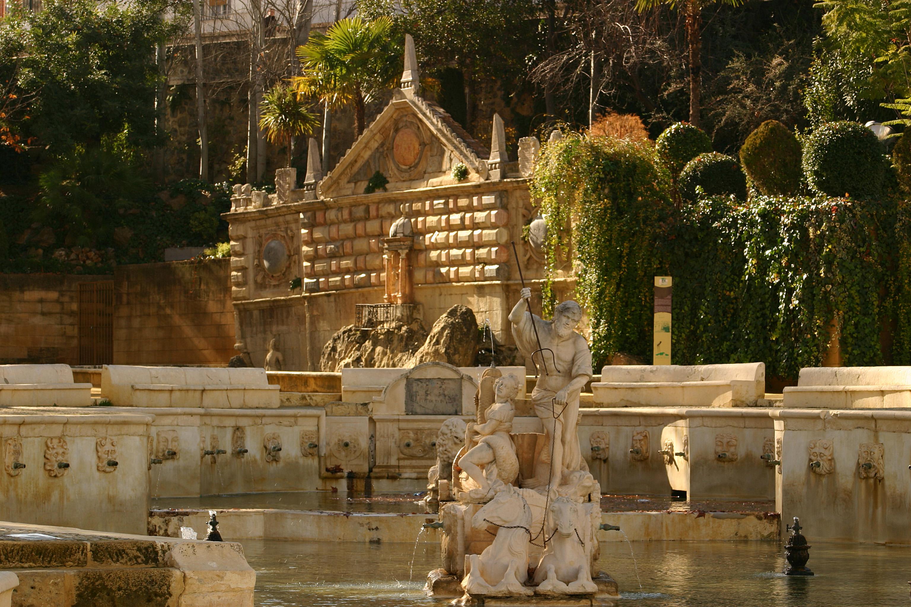 Fuente del Rey y Fuente de la Salud en Priego de Córdoba
