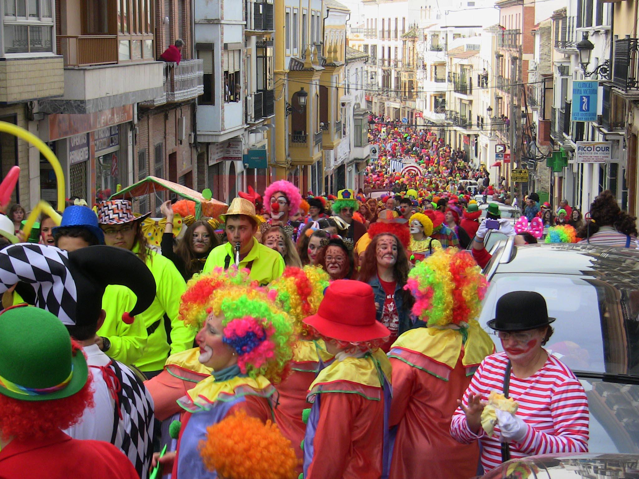 Rute sabor a Navidad carnaval festival temático