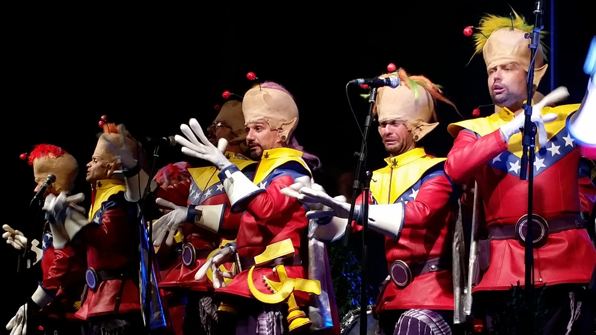 Actuación en el Festival Carnavaluc