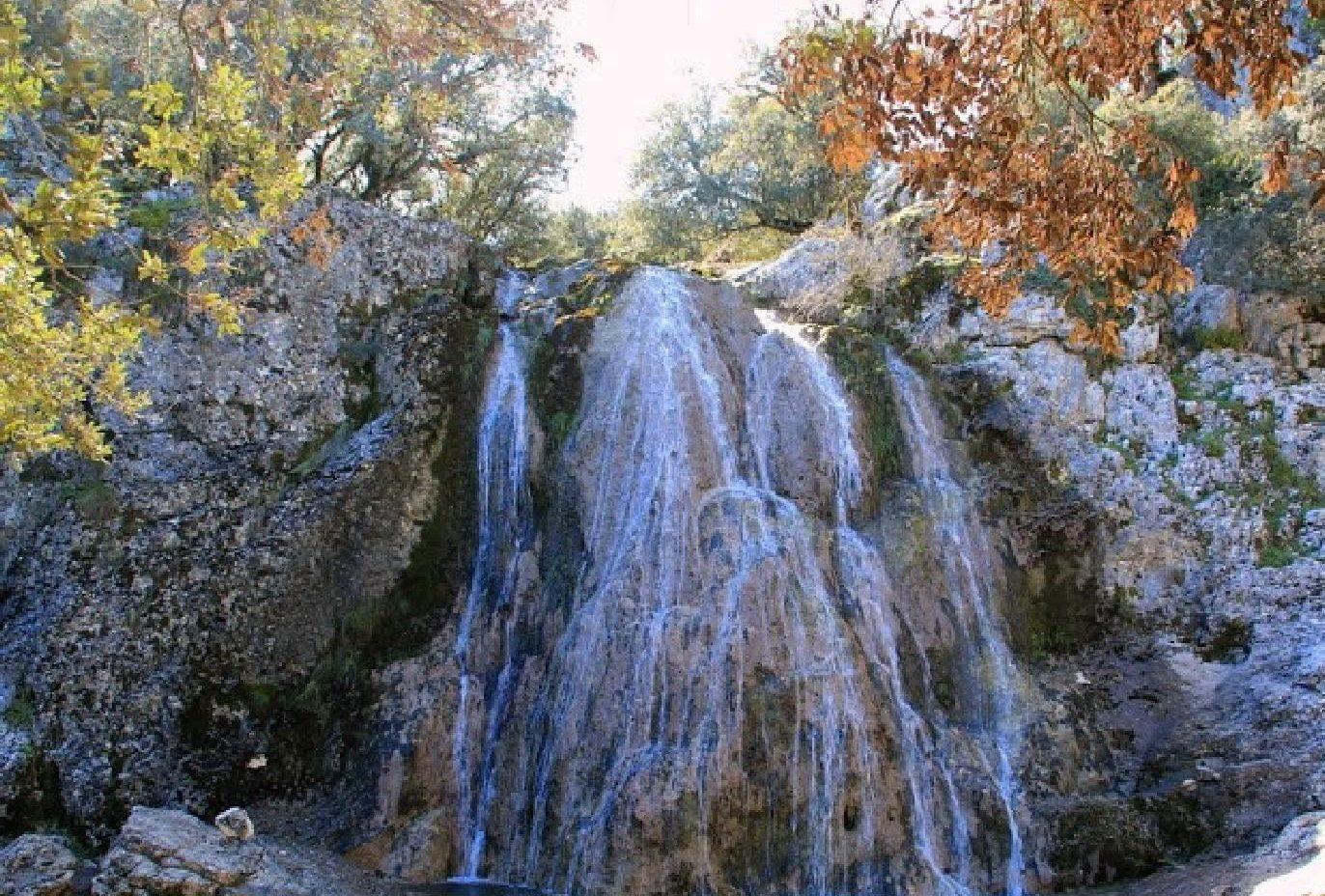 Chorreras del Río Bailón en Cabra