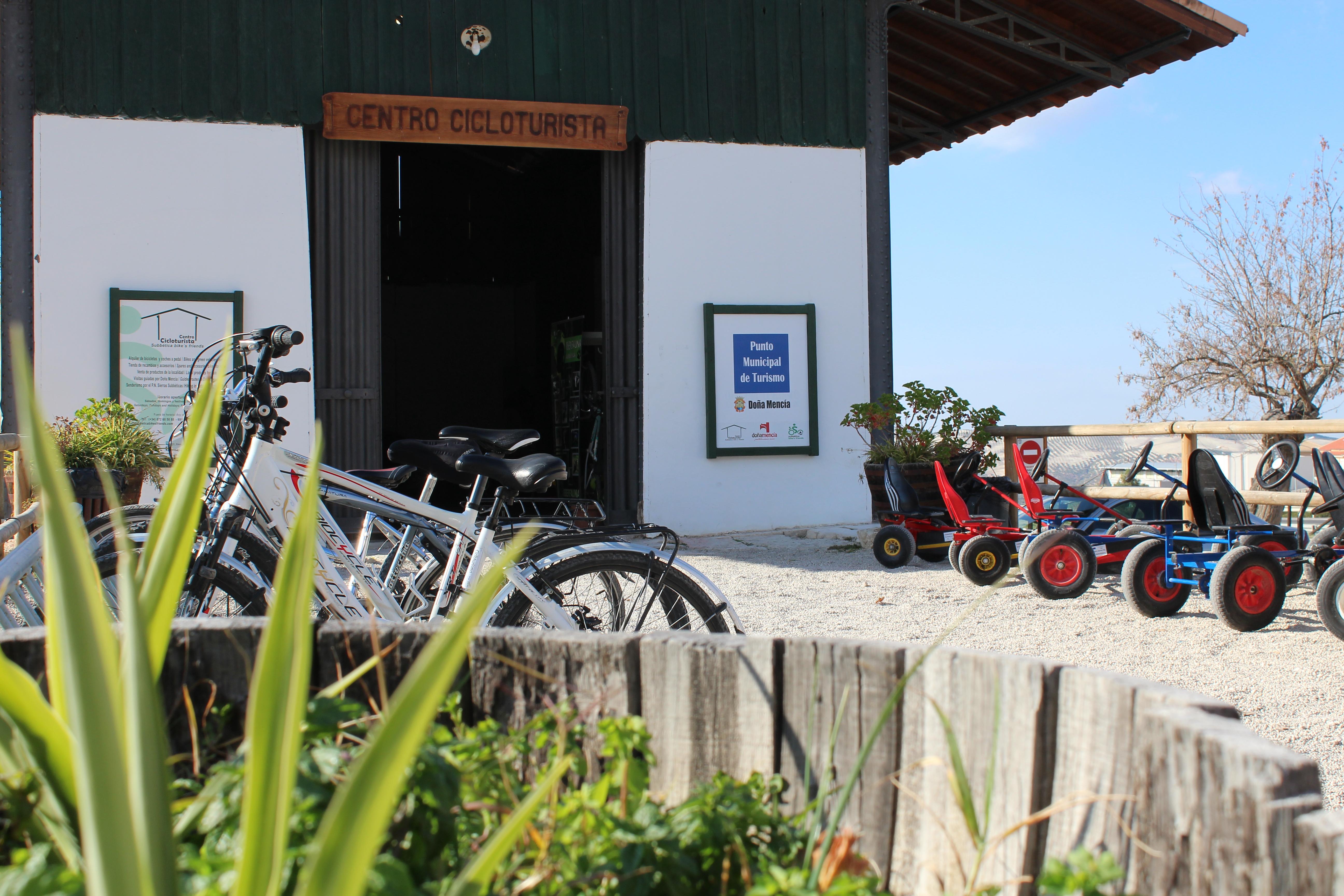 Centro Cicloturista Subbética en Doña Mencía