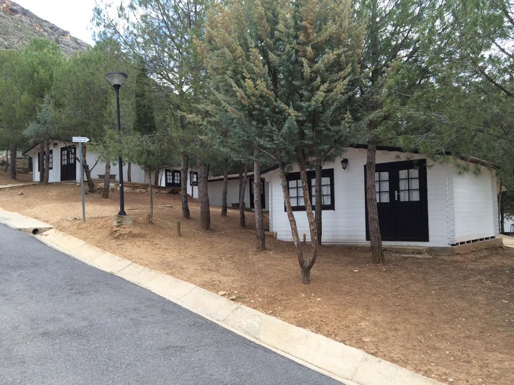 Cabañas del Camping Valdearenas