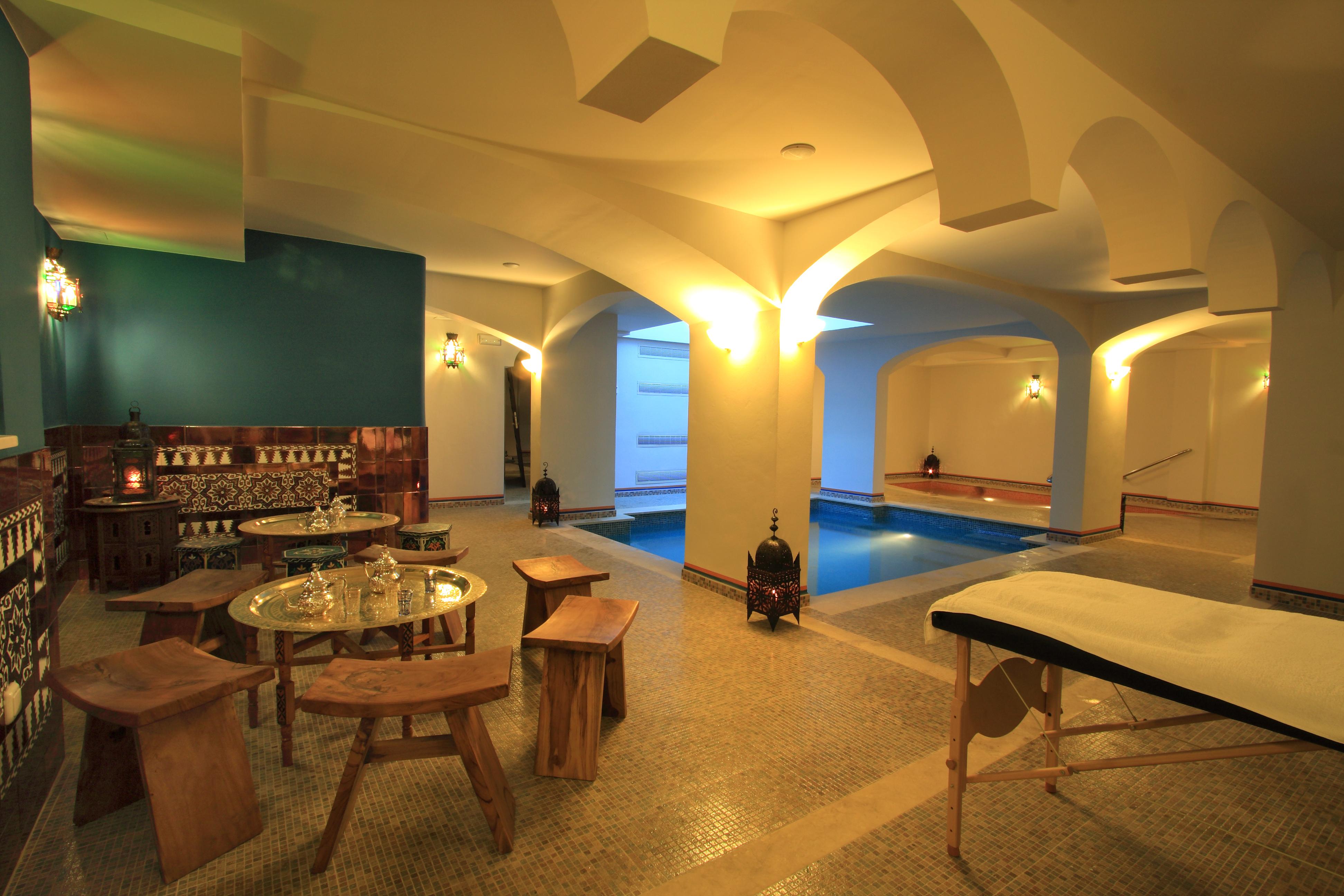 Baños árabes en Casa Baños de la Villa