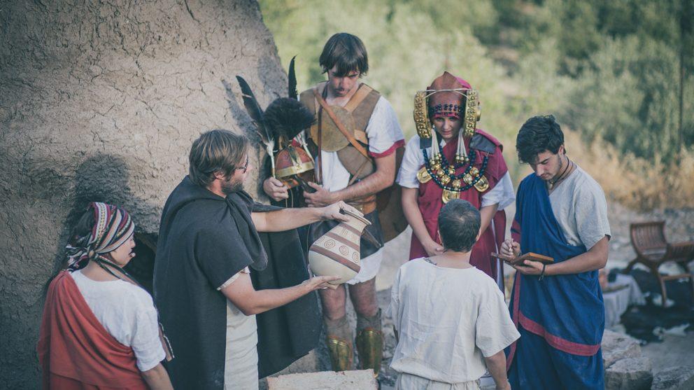 Recreación de la época iberorromana en FESTUM