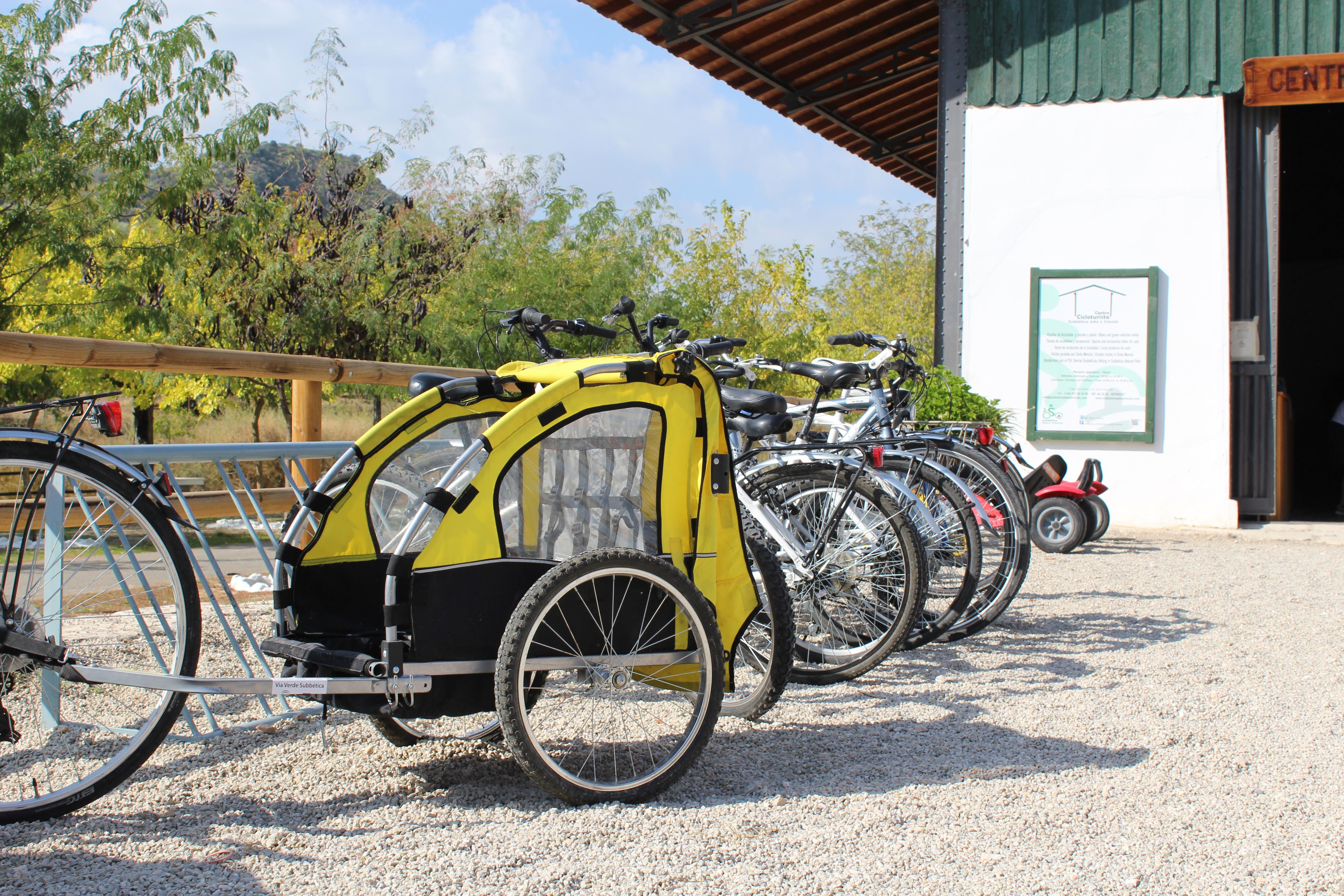 Vehículos del Centro Cicloturista Subbética