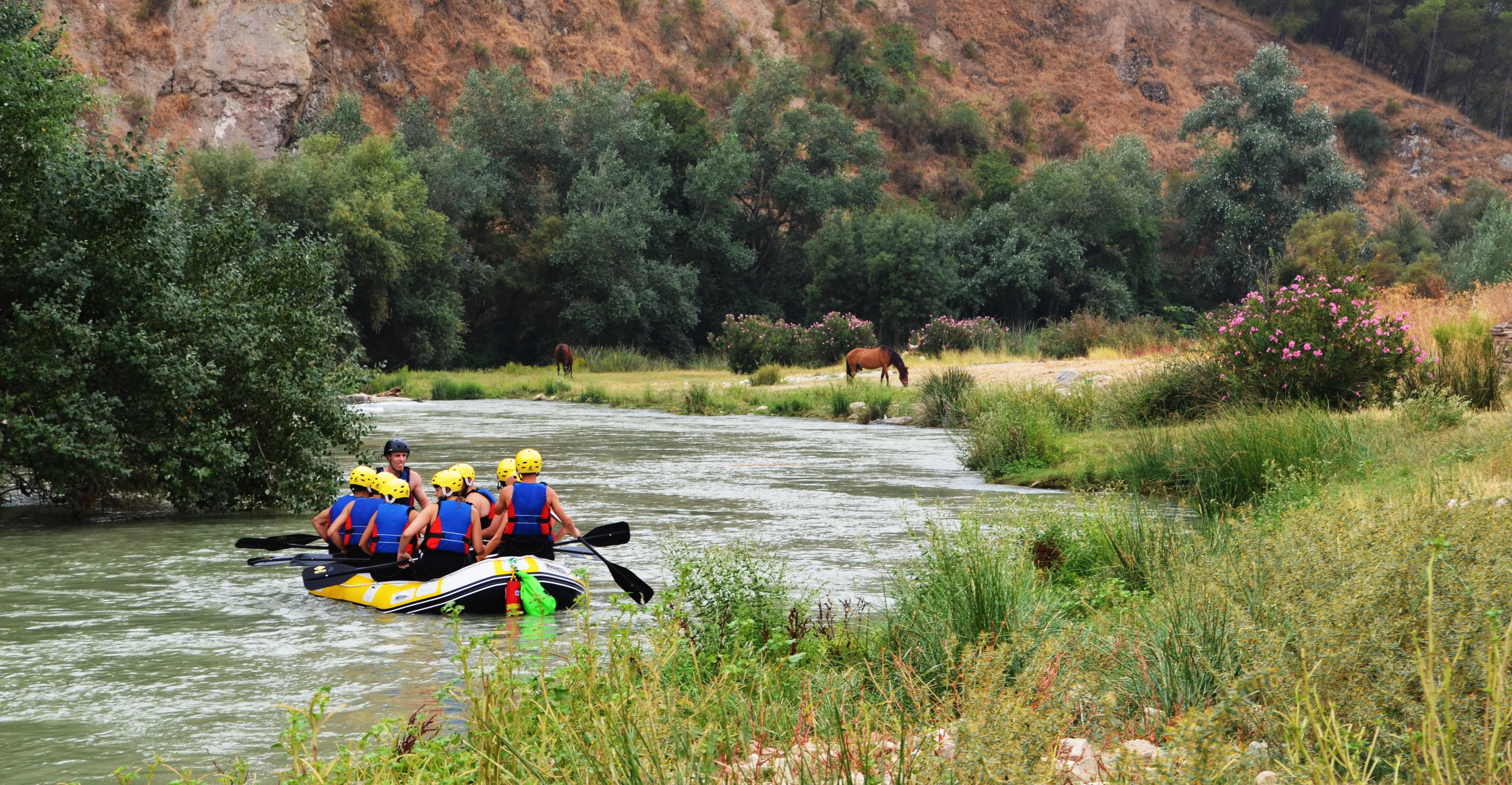 Rafting en el centro de Andalucía