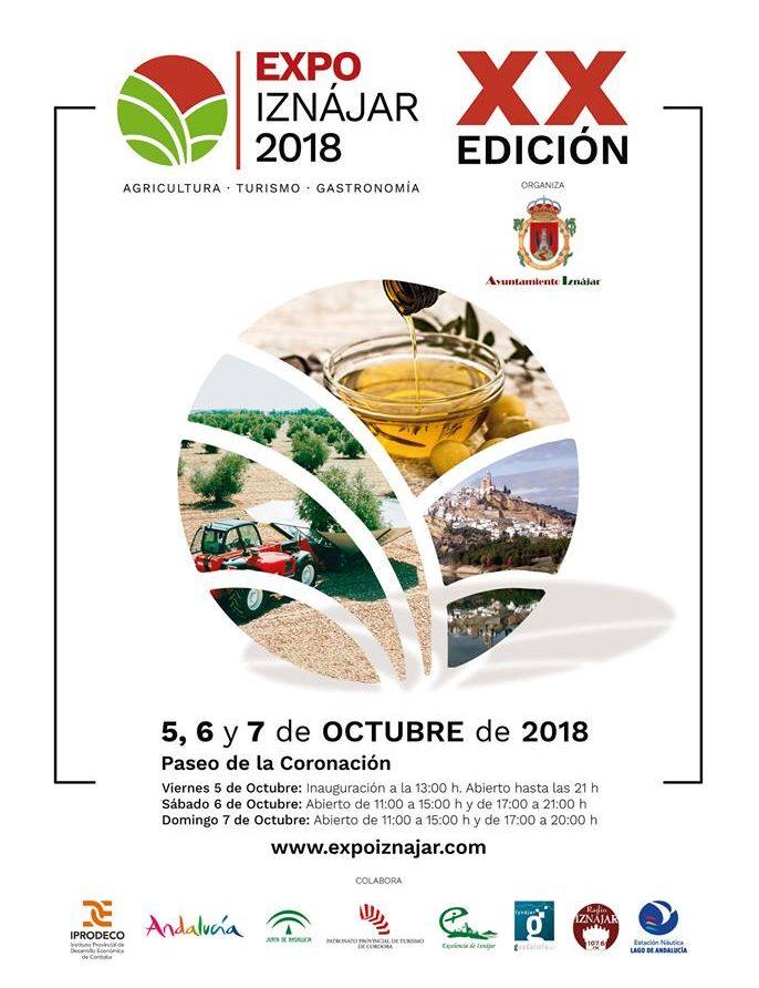 Cartel de ExpoIznájar 2018