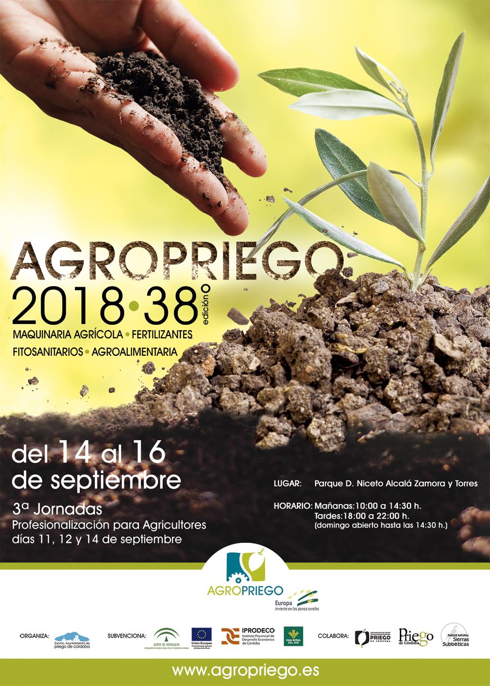 Cartel AgroPriego 2018