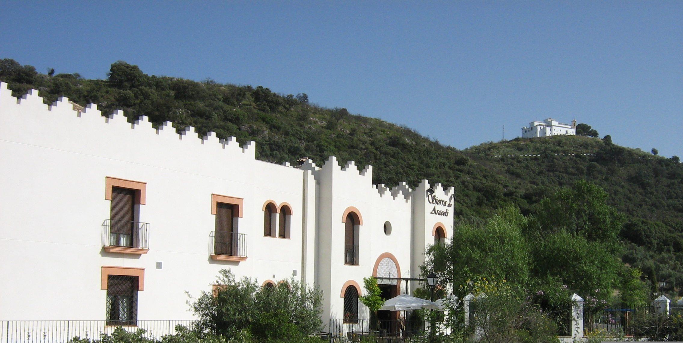 Vistas del Hotel Restaurante Sierra de Araceli
