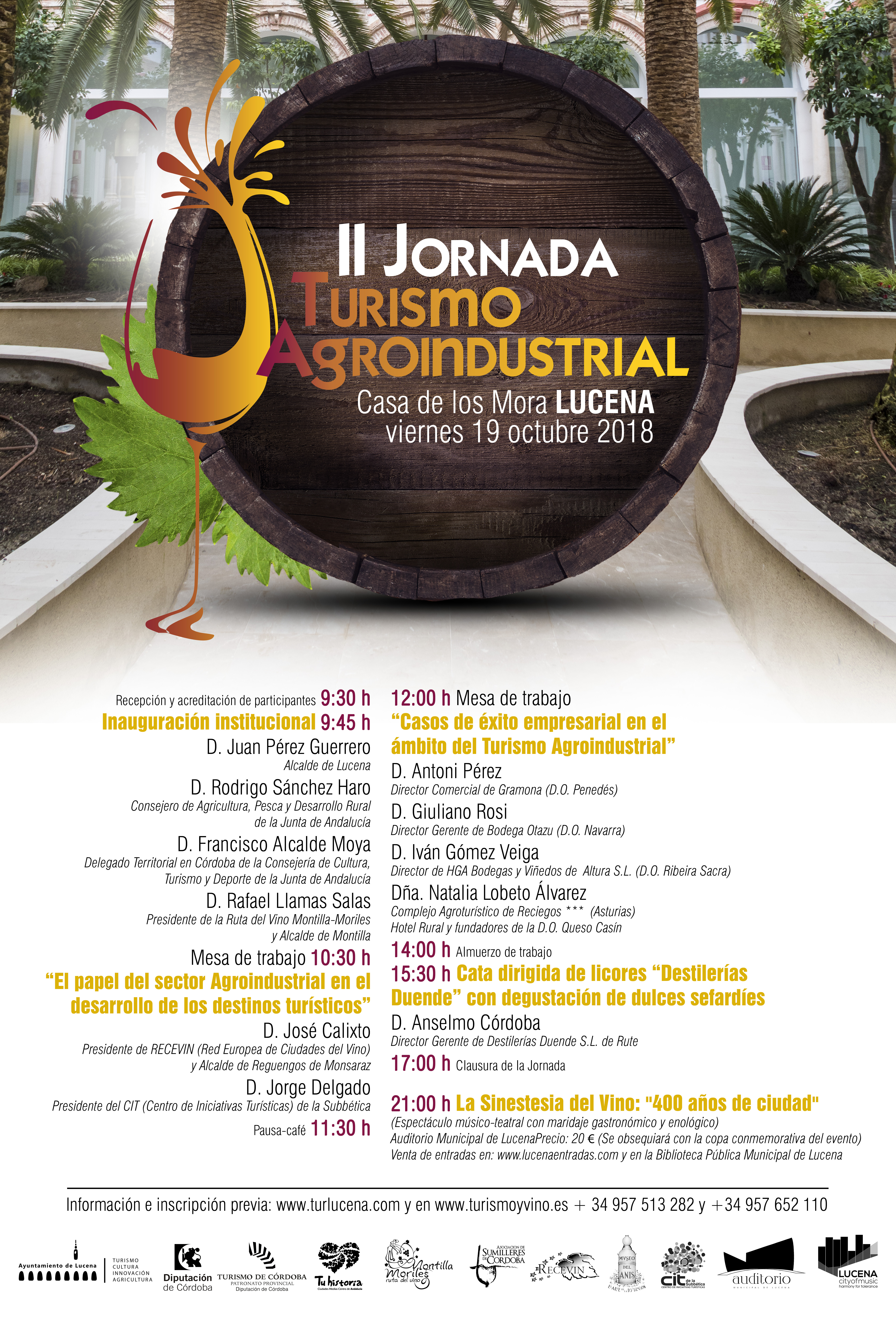 II Jornada de Turismo Agroindustrial en Lucena