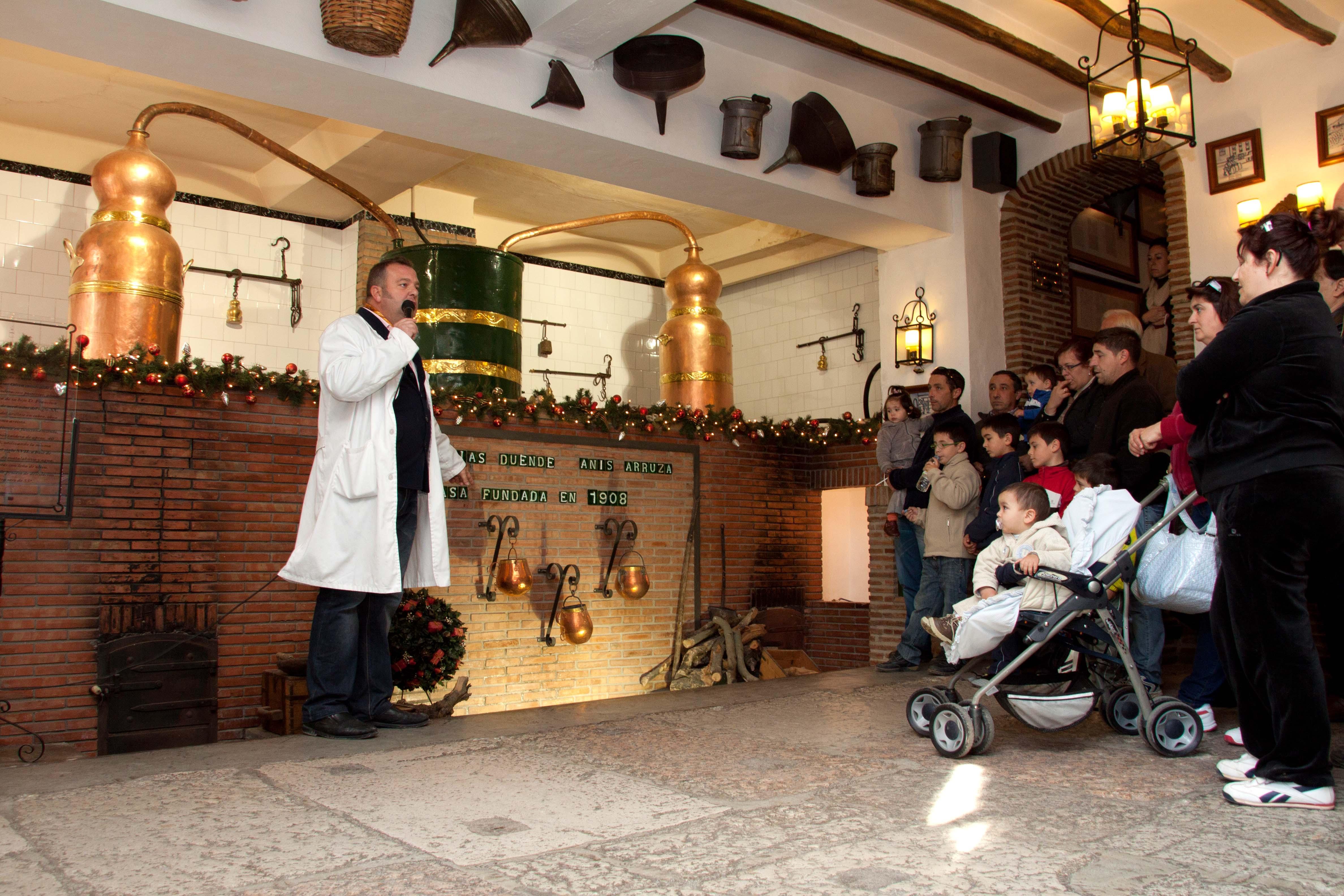 Visita al Museo del Anís de Rute
