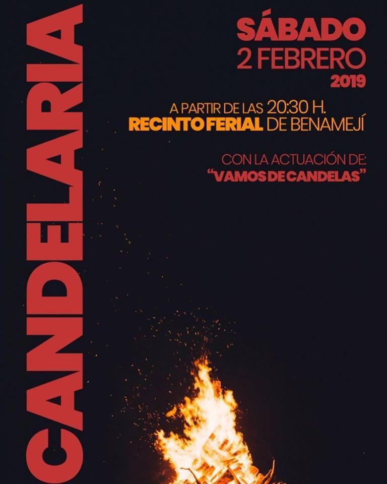 Fiesta de la Candelaria 2019 Benamejí