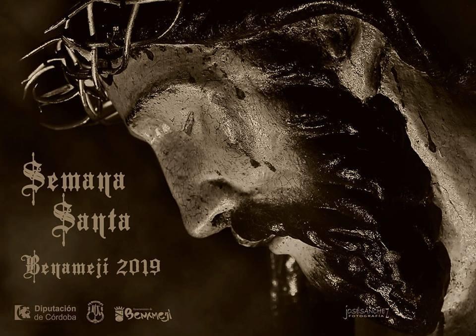 Cartel anunciador Semana Santa 2019 Benamejí