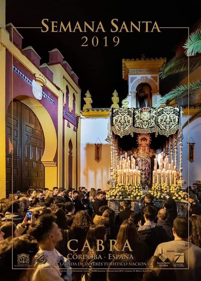 Cartel anunciador Semana Santa 2019 Cabra