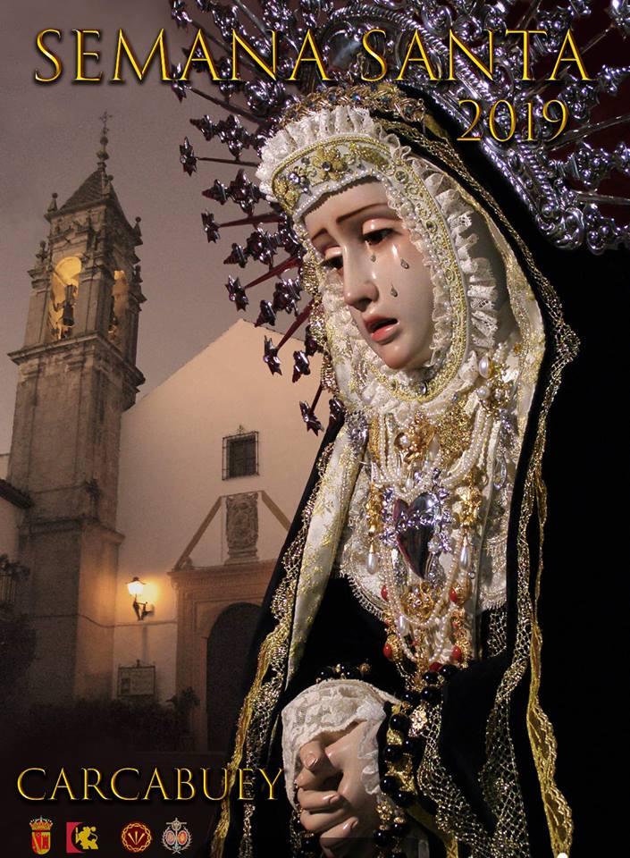 Cartel anunciador Semana Santa 2019 Carcabuey
