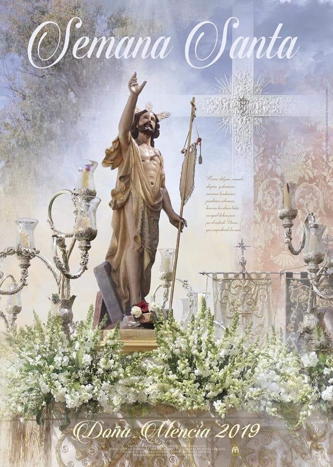 Cartel anunciador Semana Santa 2019 Doña Mencía