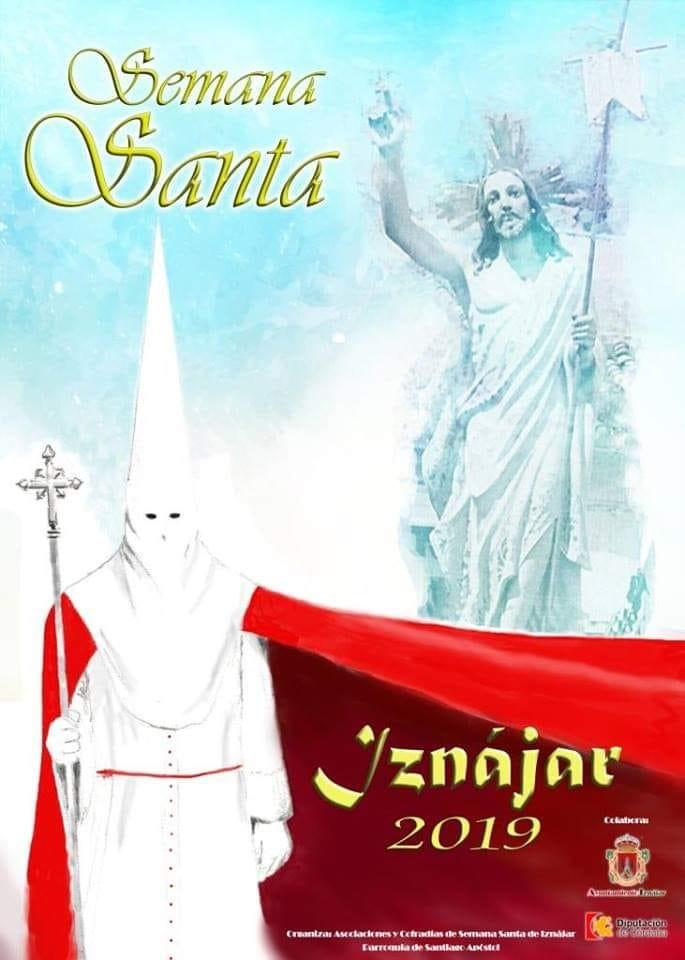 Cartel anunciador Semana Santa 2019 Iznájar