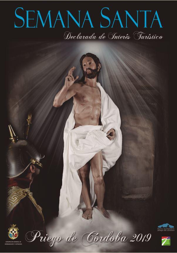 Cartel anunciador Semana Santa 2019 Priego de Córdoba