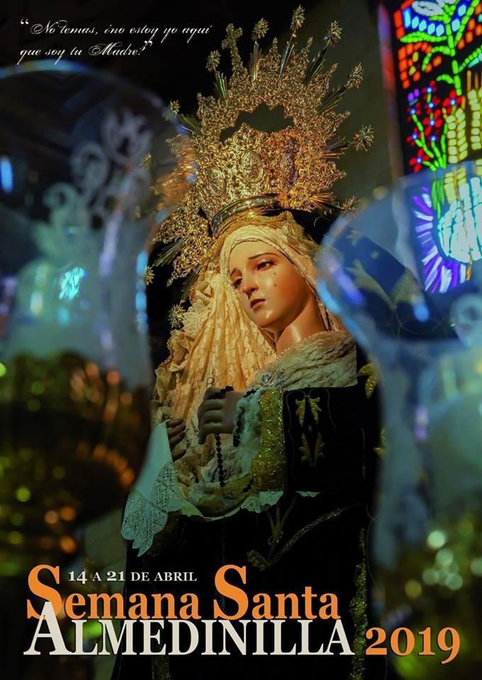 Cartel anunciador Semana Santa 2019 Almedinilla