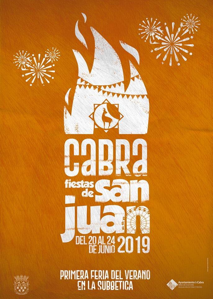 Cartel anunciador de las Fiestas de San Juan en Cabra