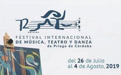 72º Festival Internacional de Música, Teatro y Danza en Priego de Córdoba