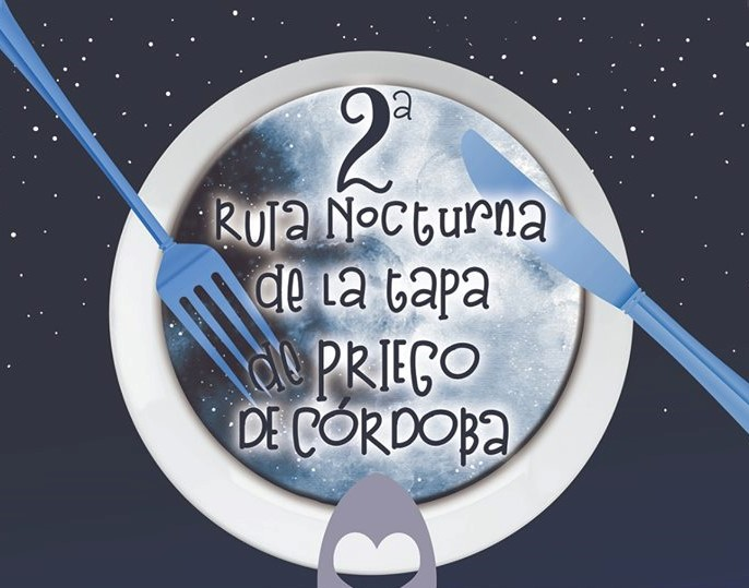 2ª Ruta Nocturna de la Tapa en Priego de Córdoba