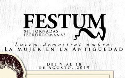 FESTUM 2019, XII Jornadas Iberorromanas de Almedinilla